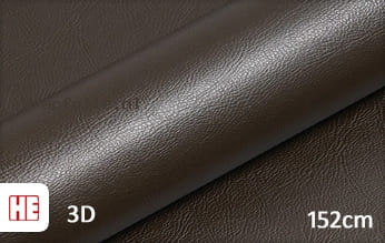Hexis HX30PGMBRB Grain Leather Brown Gloss