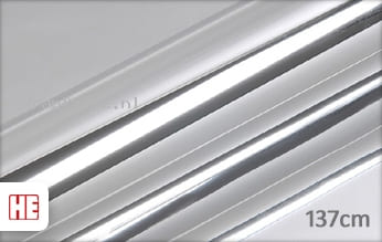 Hexis HX30SCH01B Super Chrome Silver Gloss