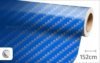 Blauw 2D carbon folie