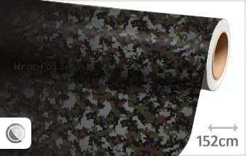 Camouflage digitaal folie