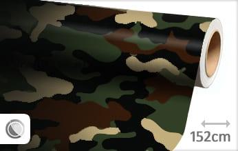 Camouflage leger folie