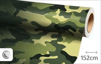 Camouflage oerwoud folie