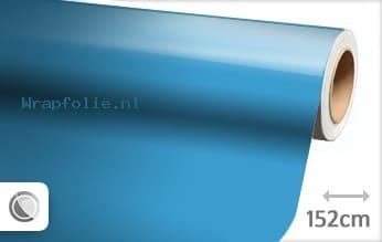 Glans babyblauw folie