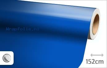 Glans blauw folie