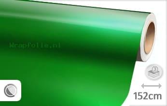 Glans metallic groen folie