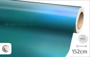 Glans metallic lichtblauw folie