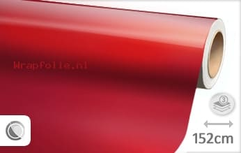Glans metallic rood folie