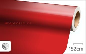 Glans rood folie