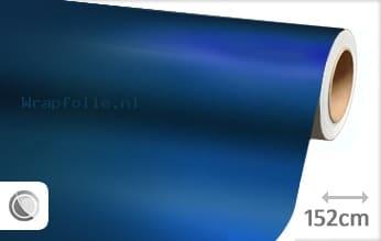 Mat chroom blauw folie