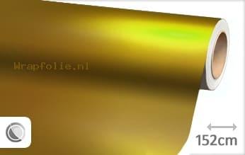 Mat chroom geel folie