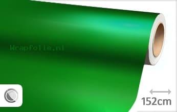 Mat chroom groen folie