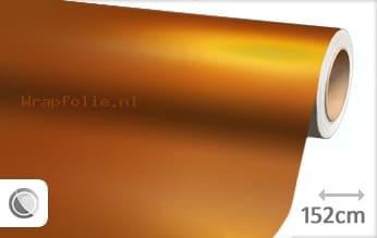 Mat chroom oranje folie
