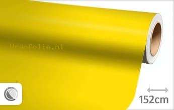Mat geel folie