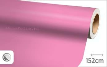 Mat roze folie