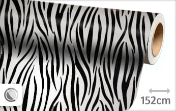 Zebra print folie